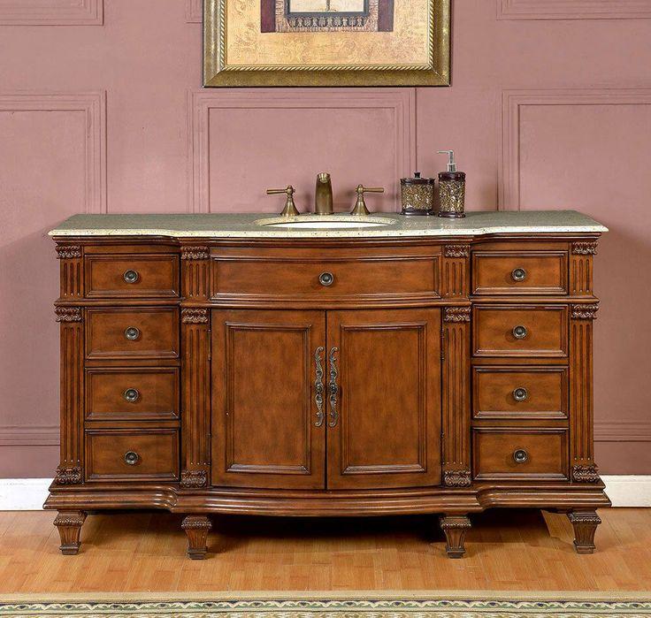 60 bathroom vanity cabinet single sink bathroom cabinet on replacement countertops for bathroom vanity id=56481