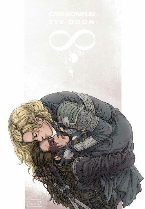 Clarke and Lexa