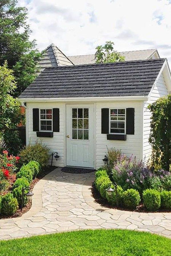29 Awesome Potting Shed transformation designs for your landscaping - Potting Shed Designs