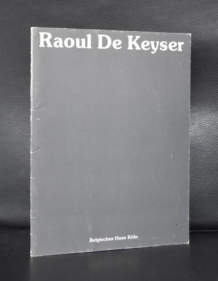 Haus Koln # RAOUL DE KEYSER # 1979, nm