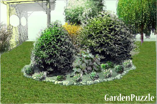 Klomb Na Ogrodzie Gardenpuzzle Projektowanie Ogrodow W Przegladarce Plants Projects
