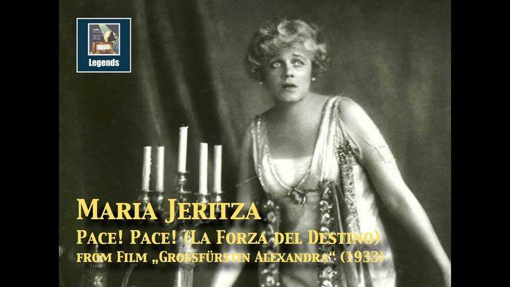 Maria Jeritza: Arie der Leonore (La Forza del Destino) 1933