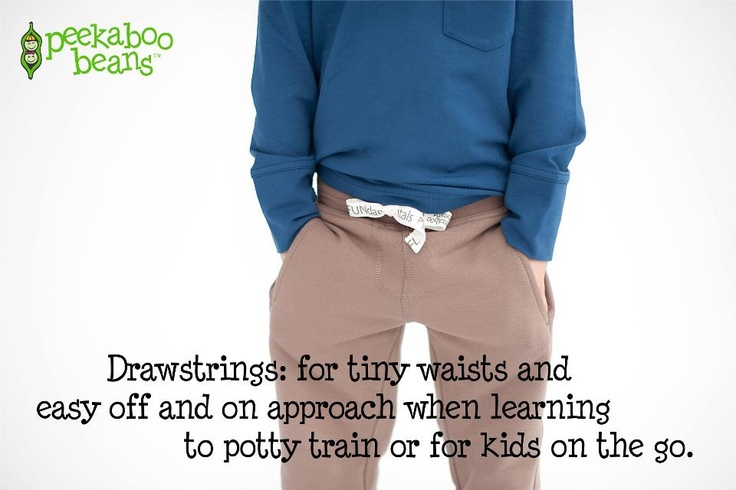 Drawstrings and pockets are our favs!