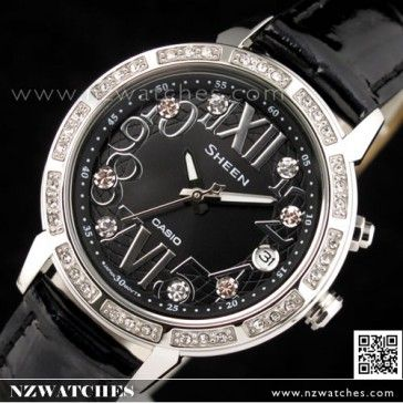 BUY Casio Sheen Rhinestones LED Light Ladies Watch SHE-4031L-1A,SHE4031L - Buy Watches Online | CASIO NZ Watches