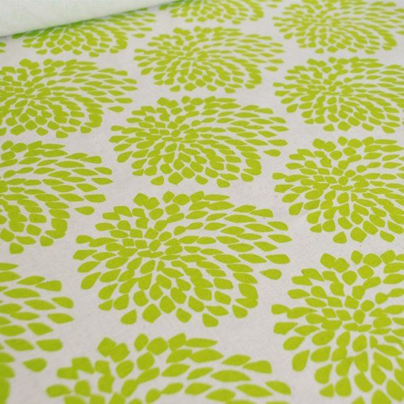 screen-printed fabric (fresh lime on unbleached hemp/organic cotton)