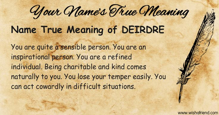 Name True meaning