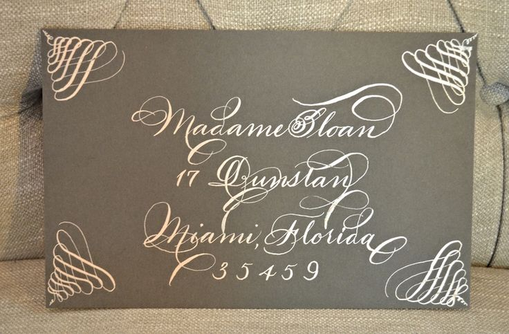 Styles Bella Grafia Hand Calligraphy Engraving