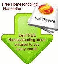 Homeschool Newsletter - Fuel the Fire Newsletter