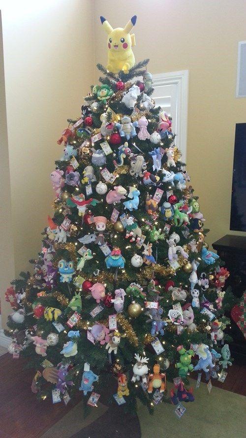 Pokémon Christmas tree