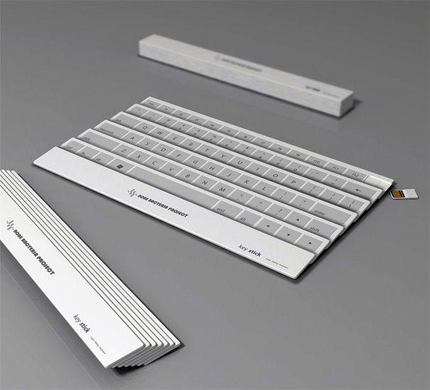 Folding Fan Is A Keyboard by Yoonsang Kim & Eunsung Park