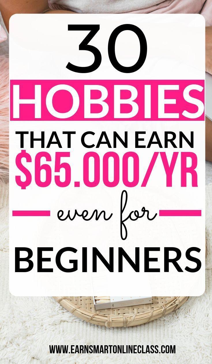 Suchen Sie nach einer Liste von Hobbys, die dieses Jahr online Geld verdienen? Wir haben …   – Work From Home & Get Paid