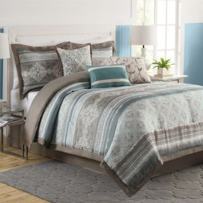 tresco comforter set is decorated with a vibrant pattern printed on a textured fabric that creates a beautifully dimensional look itu0026 finished with a solid