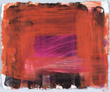 Howard Hodgkin love his colour and brushmarks
