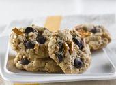 Recette de Biscuits bretzels au chocolat, caramel et avoine