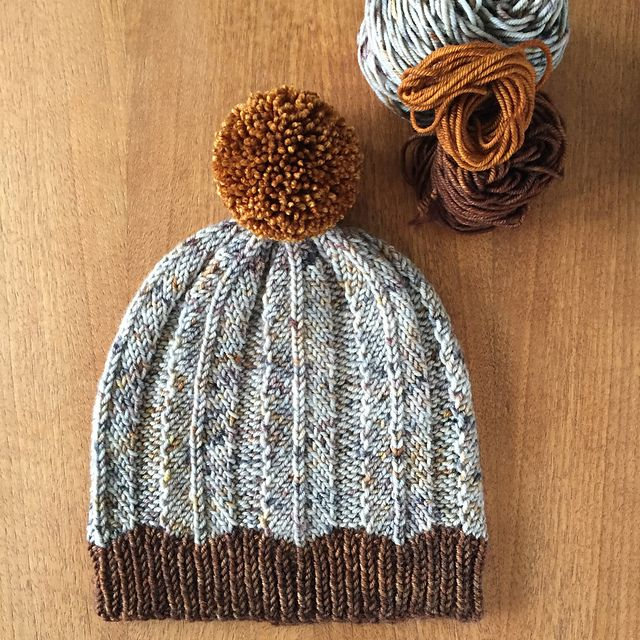 Ravelry: Feathered Hat pattern by Flock Fibre Studio