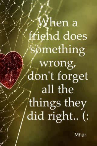 true friendship soooo many forget!!!! amen