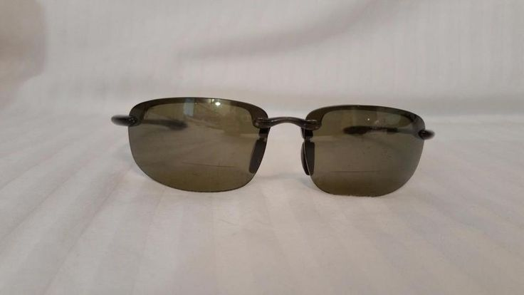 $35.95 Maui Jim Sport Sunglasses HT 807-11 Clear Gray Frame Lenses Replaced Frame Only #MauiJim #Sport