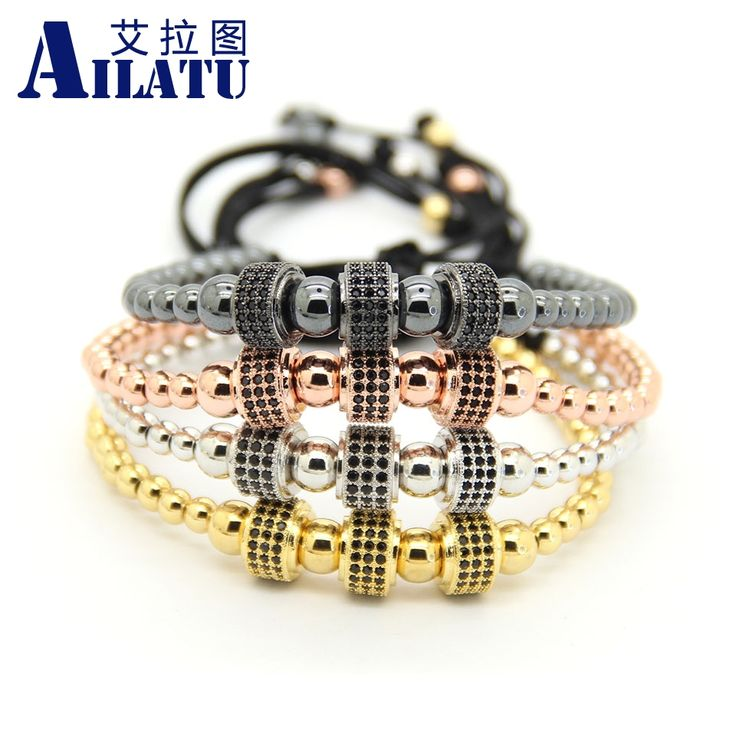 Ailatu Fashion Copper Beads Weave Three Micro Pave CZ Charm Cylinders Balls Braiding Macrame Bracelet Jewelry    $ 82.11 and FREE Shipping    Tag a friend who would love this!    https://esanzshop.com/ailatu-fashion-copper-beads-weave-three-micro-pave-cz-charm-cylinders-balls-braiding-macrame-bracelet-jewelry/    {#fashion #style #beautiful #shopping #beauty #stylish   #cute #pretty #girl #shoes #model #outfit #followall   #girls #hair #styles #pink #purse #handmade   #eyes #design…