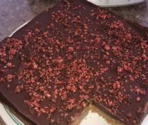Cherry Ripe Slice