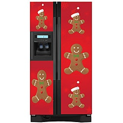 @Overstock.com.com.com.com.com.com.com - This Gingerbread Man refrigerator cover will add a touch of the winter holidays to your home. Appliance Art refrigerator covers are easy to install and easy to keep clean.http://www.overstock.com/Home-Garden/Appliance-Art-Holiday-Gingerbread-Man-Refrigerator-Cover/5303471/product.html?CID=214117 $80.99