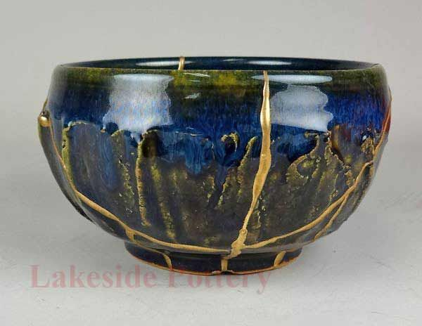 kintsugi | more kintsugi examples makienaoshile kintsugi bowl bonsai tray read ...