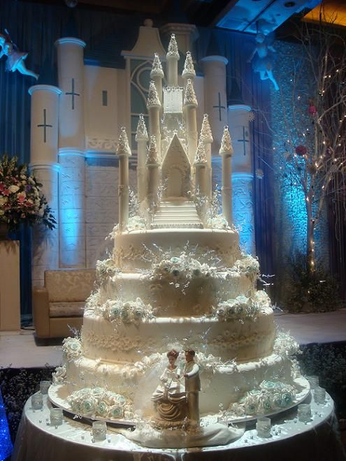 7 Tier Fairytale Castle Cake Created By Le Nouvelle Cake