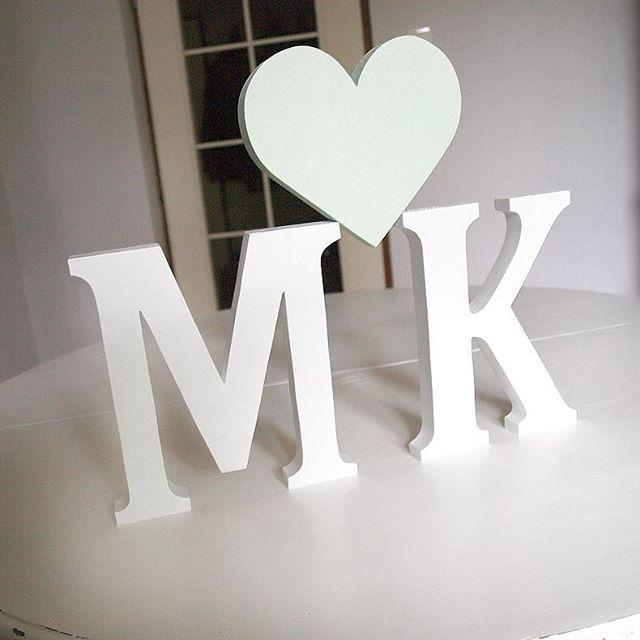 #weddingdetails #mint #letters #woodworking #woodenletters #design #natural #literydrewniane ☺ #wedding #vsco #vscocam