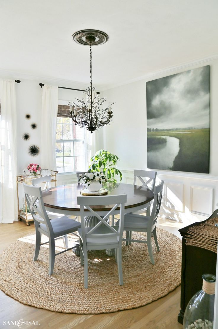 164 best Painted Dining Set images on Pinterest   Dining room sets ...