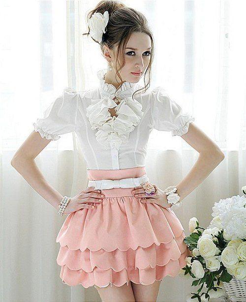 Lady's summer fashion mini skirt Mini Skirts from stylishplus.com