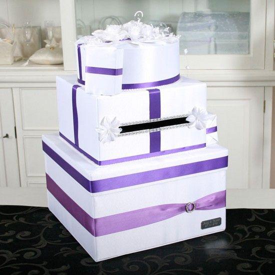 Zorg ook voor een #enveloppendoos in jullie paarse #themakleur