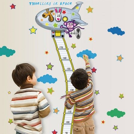 Shop For Height Chart Wall Stickers Now!