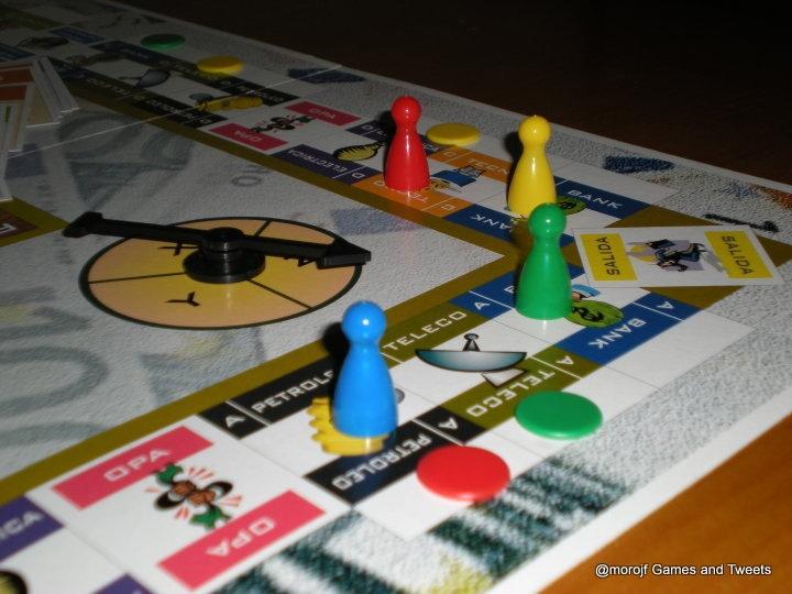 Tablero juegos el Accionista