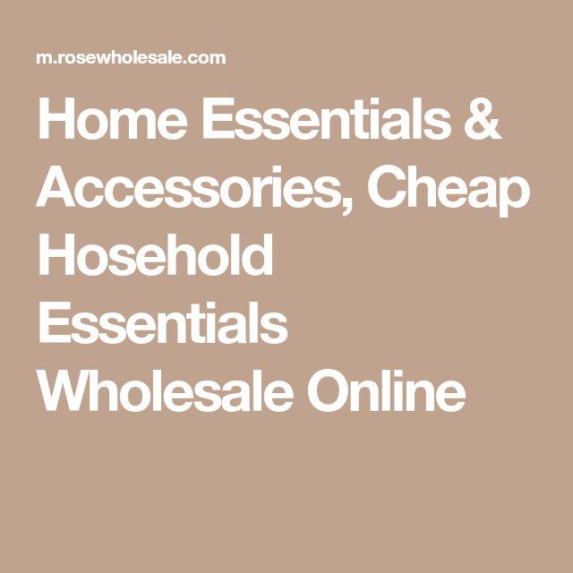 Home Essentials & Accessories, Cheap Hosehold Essentials Wholesale Online