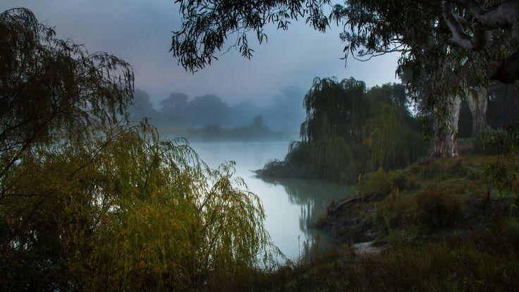Скачать обои южная австралия, река муррей, раздел природа в разрешении 2048x1152
