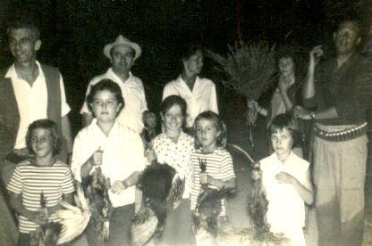 chase hunting La Costanza Farm - Macchia di Migliarino (PI) (1962) #ganzinelling