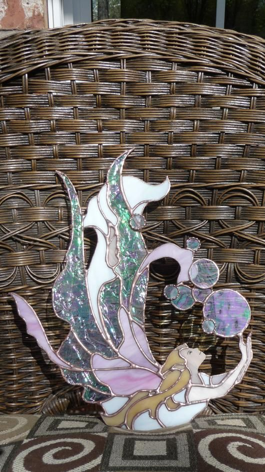 Linda's Fairy - Delphi Stained Glass