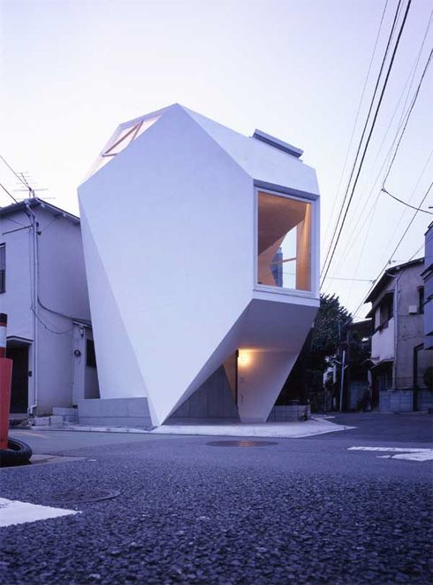 Reflection of the MIneral by Yasuhiro Yamashita: Contemporary Houses, Tiny Houses, Interiors Design, Architecture Inspiration, Spaces Save, Yasuhiro Yamashita, Small Spaces, Minerals Houses, Houses Design