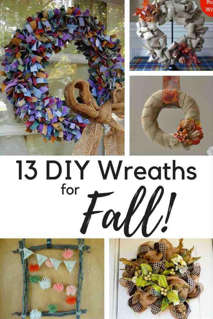 diy wreath ideas for fall do it yourself today pinterest diy wreath wreaths and diy