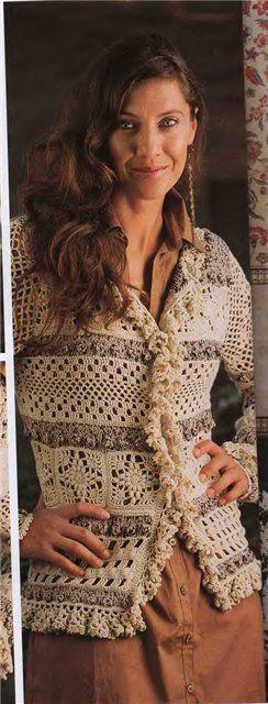 gancho de ganchillo | Entradas título gancho de tejer | Blog Magadanochka: LiveInternet - Russian servicios en línea Diaries: Crochet Sweater Patterns, Crochet Patterns, Crochet Sweaters Patterns
