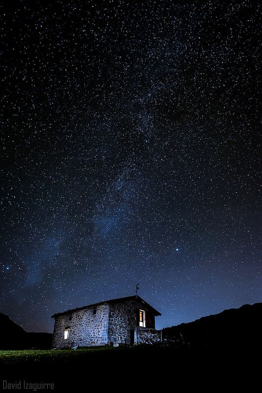 Noche de Otoño en los Collados del Asón #Cantabria #Spain