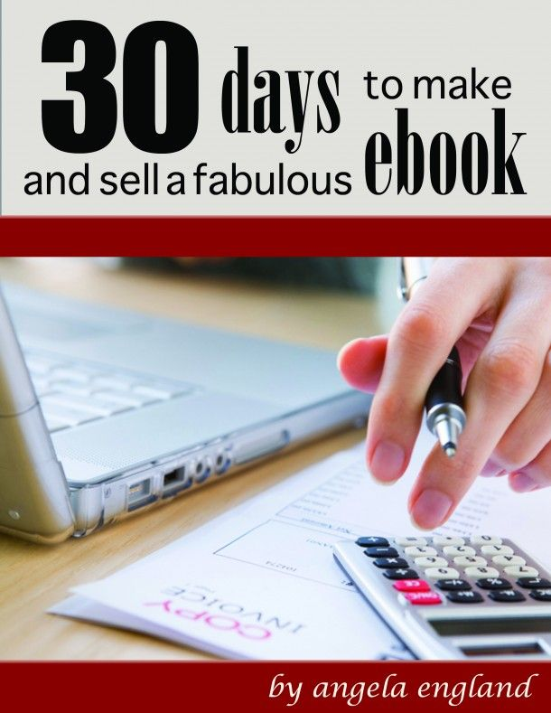 Interested in writing an ebook? Then check out 30 Days to Make and Market an ebook. It is a sure-fire way to ensure you make money online!