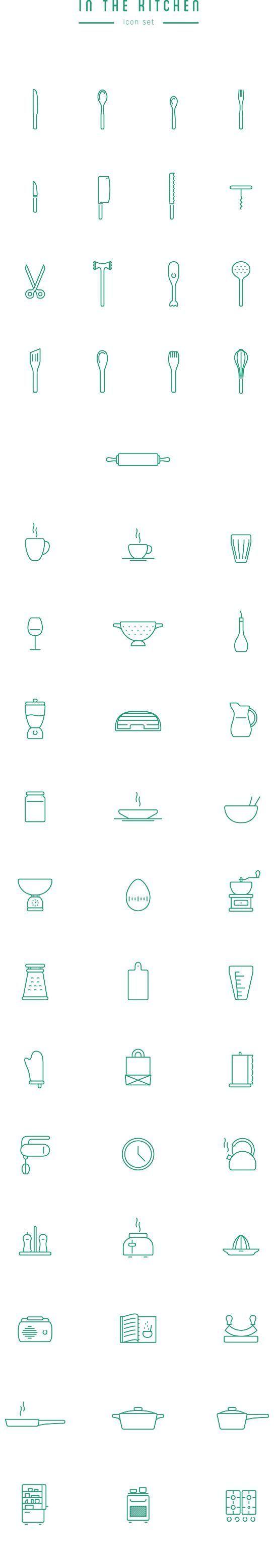 15 packs d'icons spécialisés par domaine à télécharger gratuitement   Blog du Webdesign