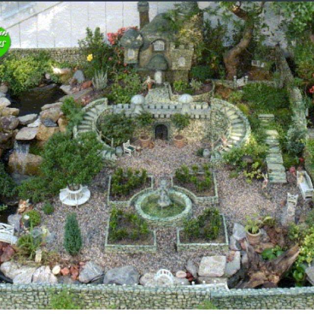 Fairy Garden Landscape Design planning out a fairy garden my mom would love thissalvage garden Fairy Garden