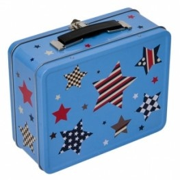 Bobble Art Tin Suitcase - Multi Star