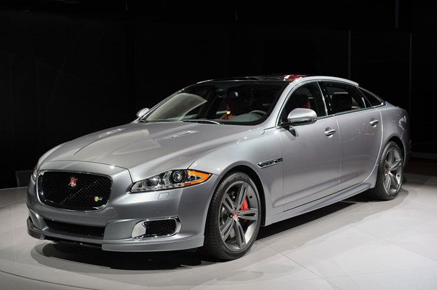 2014 Jaguar XJR - live at 2013 New York Auto Show - Yes Please