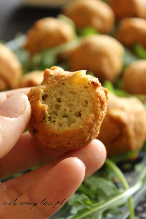 Wytrawne mini pączki ser(k)owe:) szybkie w przygotowaniu, pyszne idealne na przekąskę:)