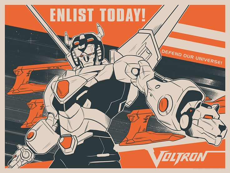 """- Inspired by Voltron: Legendary Defender - Fine Art Giclee Print - Limited Edition of 45 - Approximately 24"""" x 18"""" DreamWorks Voltron Legendary Defender © 2016 DreamWorks Animation LLC. TM World Even"""