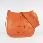 Hermes Evelyne Bag 6309 Orange  $198.00