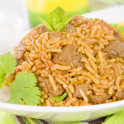 Mutton Akni A wonderful recipe which is prepared with mutton and potatoes.