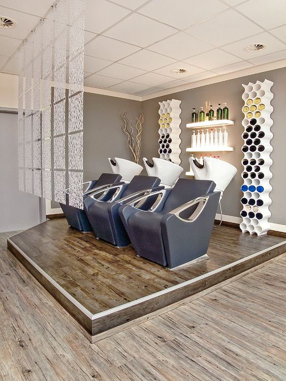 Las 25 mejores ideas sobre salon de peluqueria en for Decoracion en peluquerias